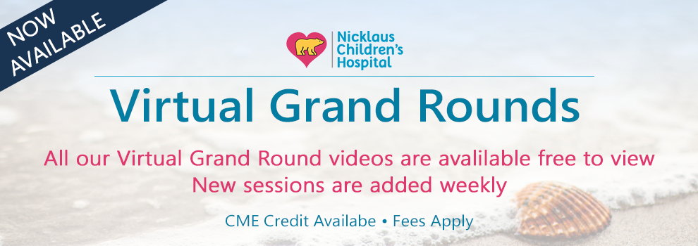 Watch Virtual Grand Rounds - Click to register